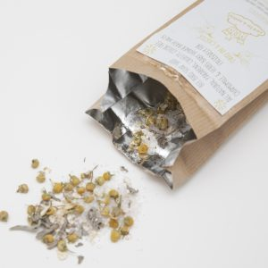 Chamomile & Herbs Baby Shower Bath Salts 40gr