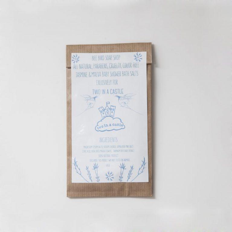 Jasmine & Malva Baby Shower Bath Salts 40gr