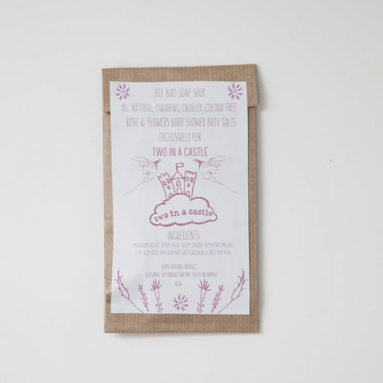 Rose & Flowers Baby Shower Bath Salts 40gr