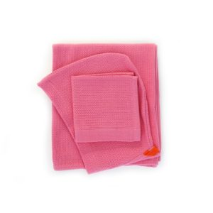 EKOBO BATHROBE NAPKIN/FACE TOWEL Set of 2 pieces