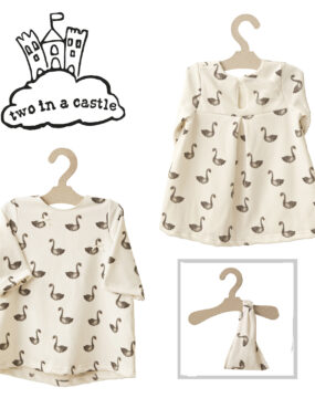 CHILD SIZE DRESS SWAN & BANDANA