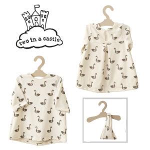 CHILD SIZE DRESS SWAN & BANDANA