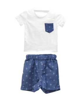 SET of T-SHIRT with BOXER ANCHORS