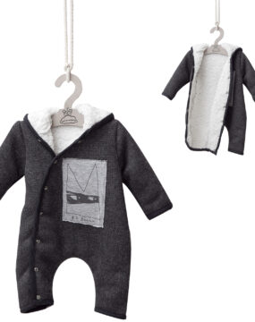 CHILD SIZE JUMPSUITS with FUR