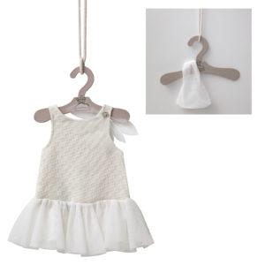 CHILD SIZE ECRU DRESS