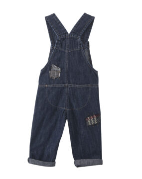 TC ERIC JEAN DUNGAREES with PATCHES