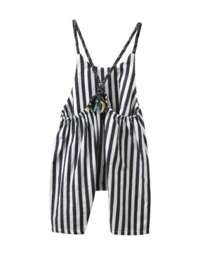 TC ALALIA STRIPY JUMPSUIT WITH COLOURFUL STRAPS